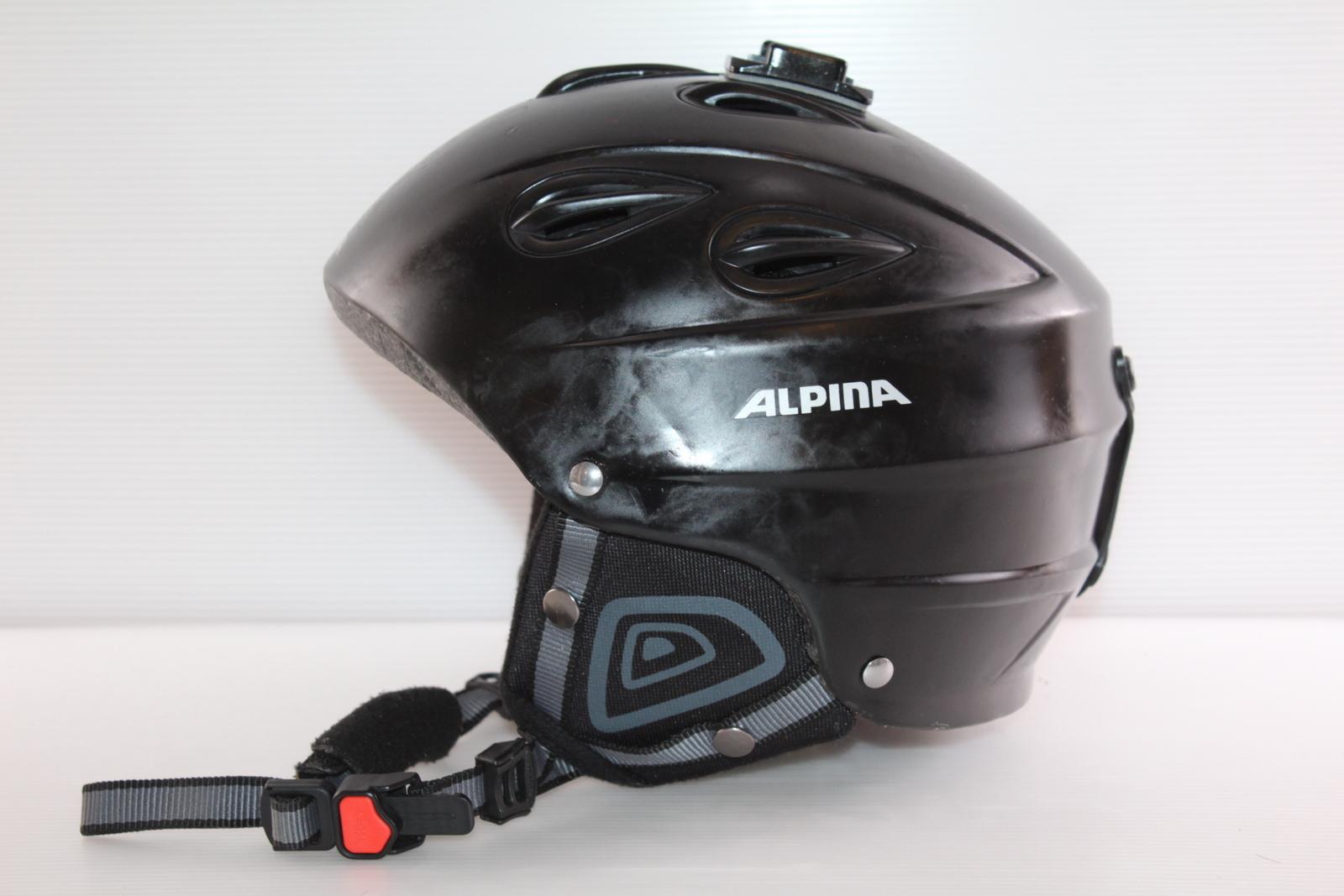 Lyžařská helma Alpina  - posuvná vel. 54 - 57