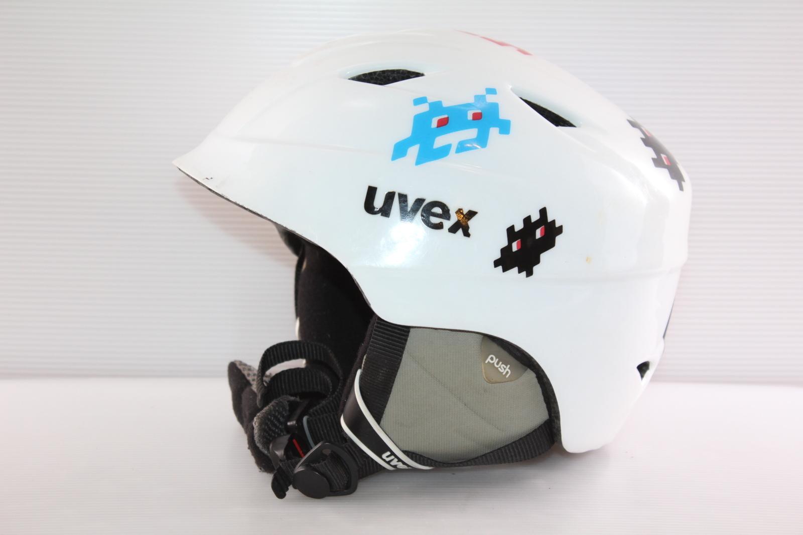 Dětská lyžařská helma Uvex  - posuvná vel. 52 - 54