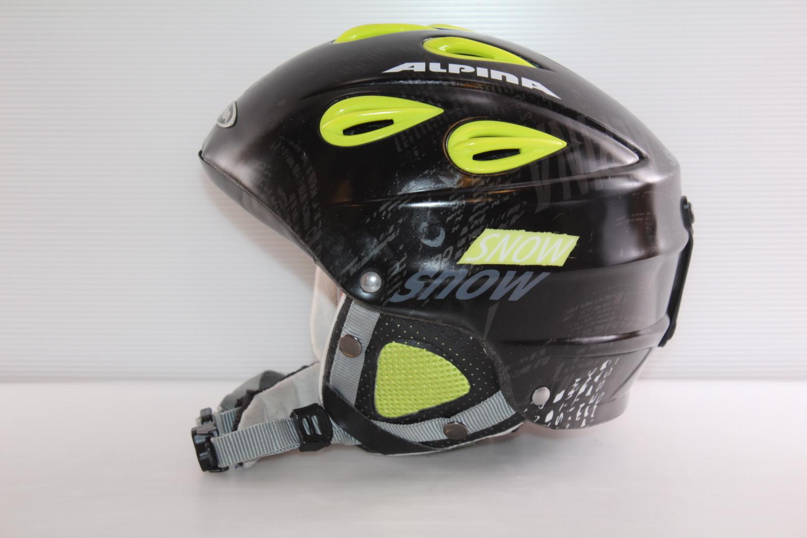 Lyžařská helma Alpina Grap - posuvná vel. 54 - 57