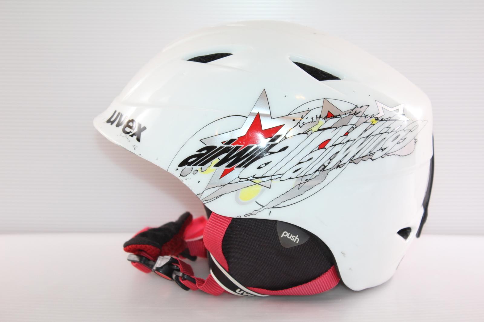Dětská lyžařská helma Uvex  - posuvná vel. 54 - 58