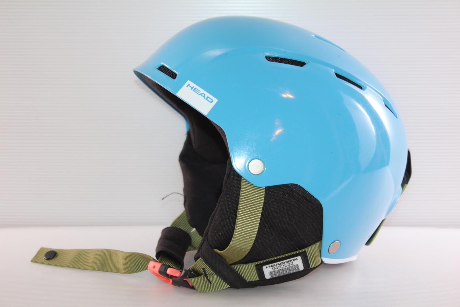 Dětská lyžařská helma Head Air Cyan - posuvná vel. 60 - 62