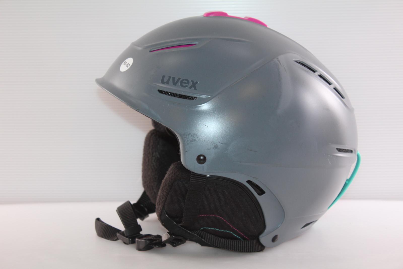 Dámská lyžařská helma Uvex  - posuvná vel. 59 - 62