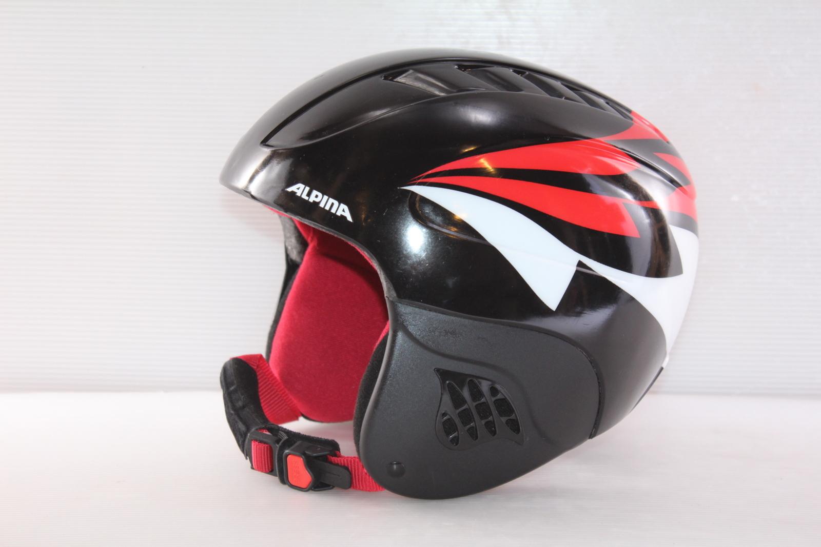 Dětská lyžařská helma Alpina Carat - posuvná vel. 54 - 58