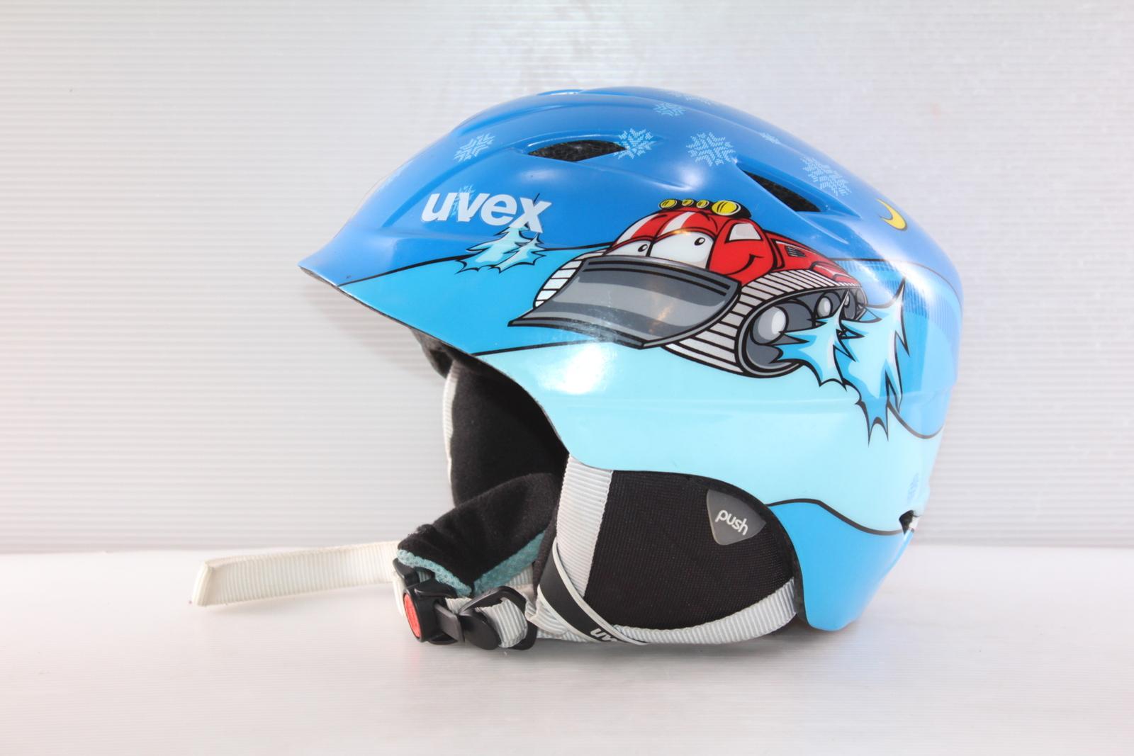 Dětská lyžařská helma Uvex Airwing 2 - posuvná vel. 52 - 54