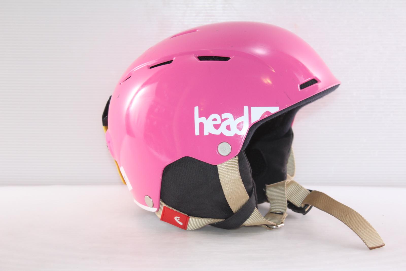 Dívčí lyžařská helma Head Air Youth Pink - posuvná vel. 48 - 51