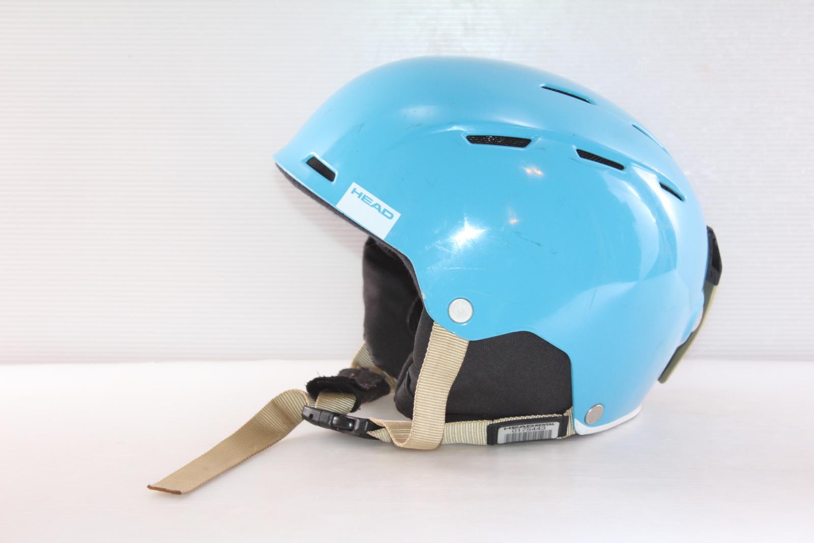 Lyžařská helma Head Air Cyan - posuvná vel. 56 - 59