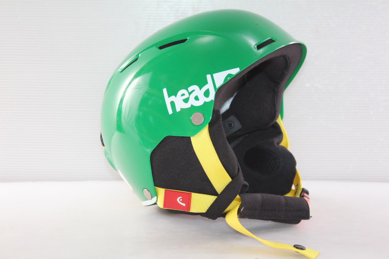 Dětská lyžařská helma Head Air Youth Green - posuvná vel. 48 - 51