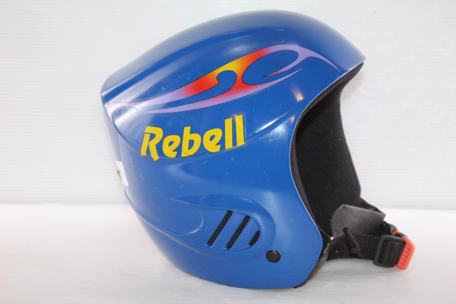 Dětská lyžařská helma Rebel Rebell vel. 52