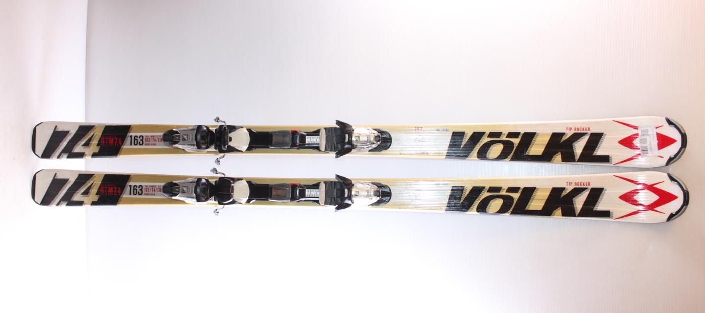 Lyže VOLKL RTM 7.4 163cm