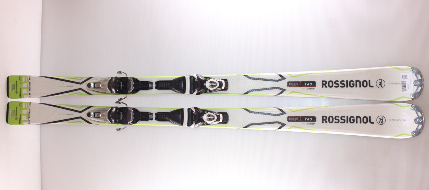 Lyže ROSSIGNOL PURSUIT RTL WHITE/GREEN 163cm