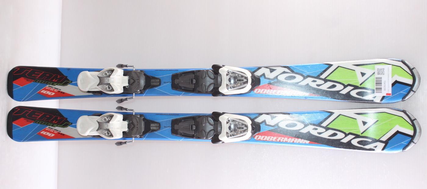 Dětské lyže NORDICA DOBERMANN TEAM RACE J 100cm rok 2015