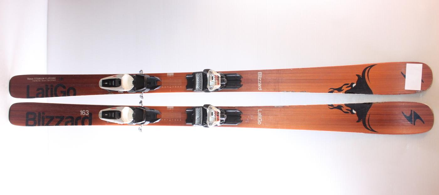 Lyže BLIZZARD LATIGO 163cm