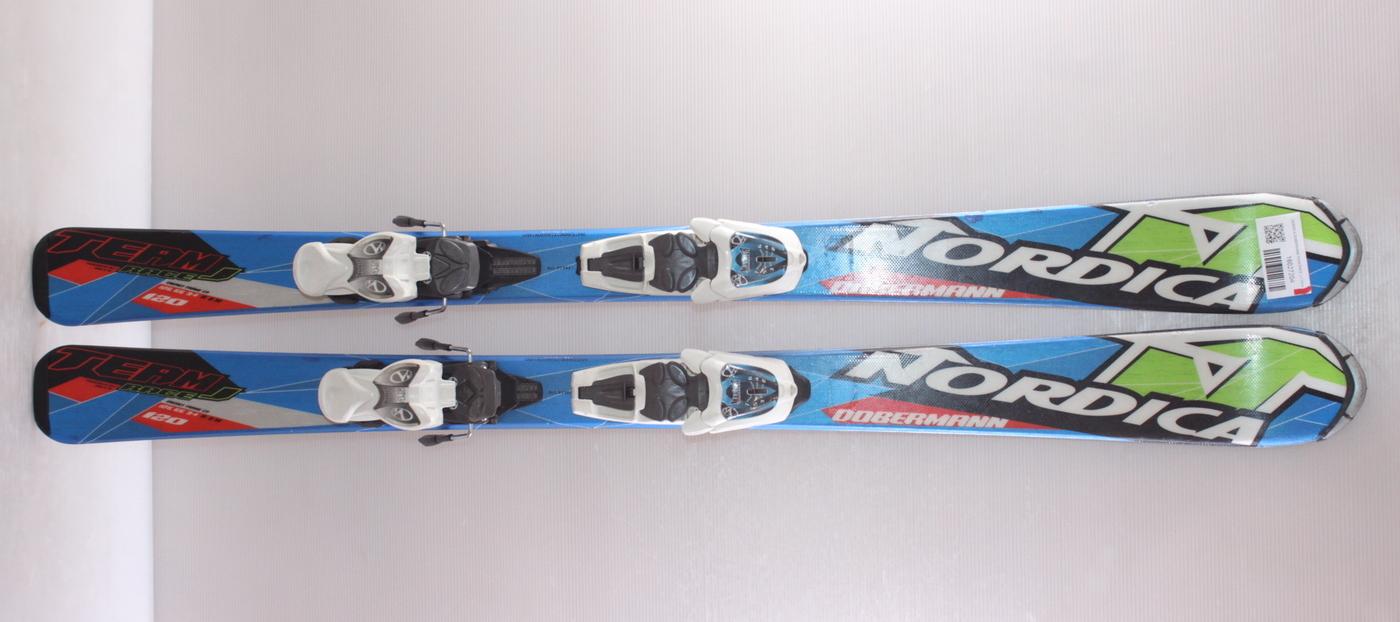 Dětské lyže NORDICA DOBERMANN TEAM RACE J 120cm rok 2016