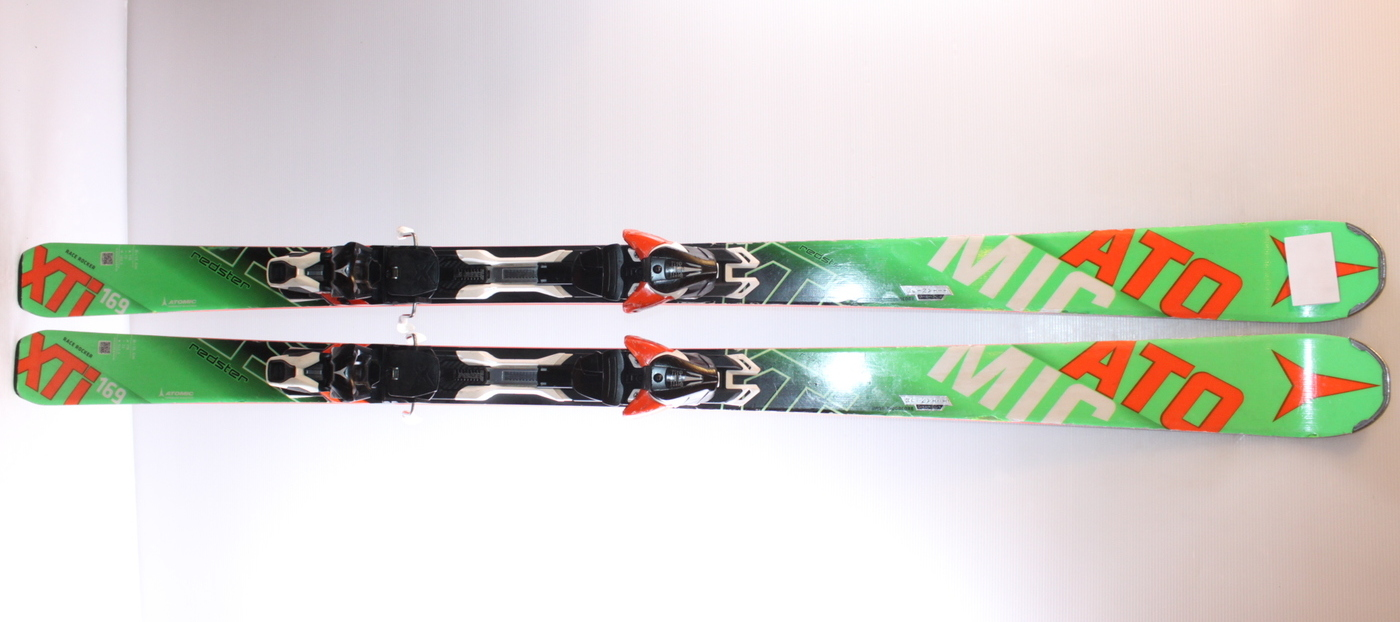 Lyže ATOMIC REDSTER XTi (green) 169cm