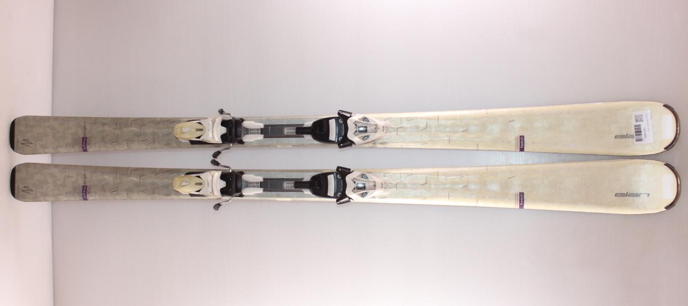 Dámské lyže ELAN QT WHITE MAGIC 158cm