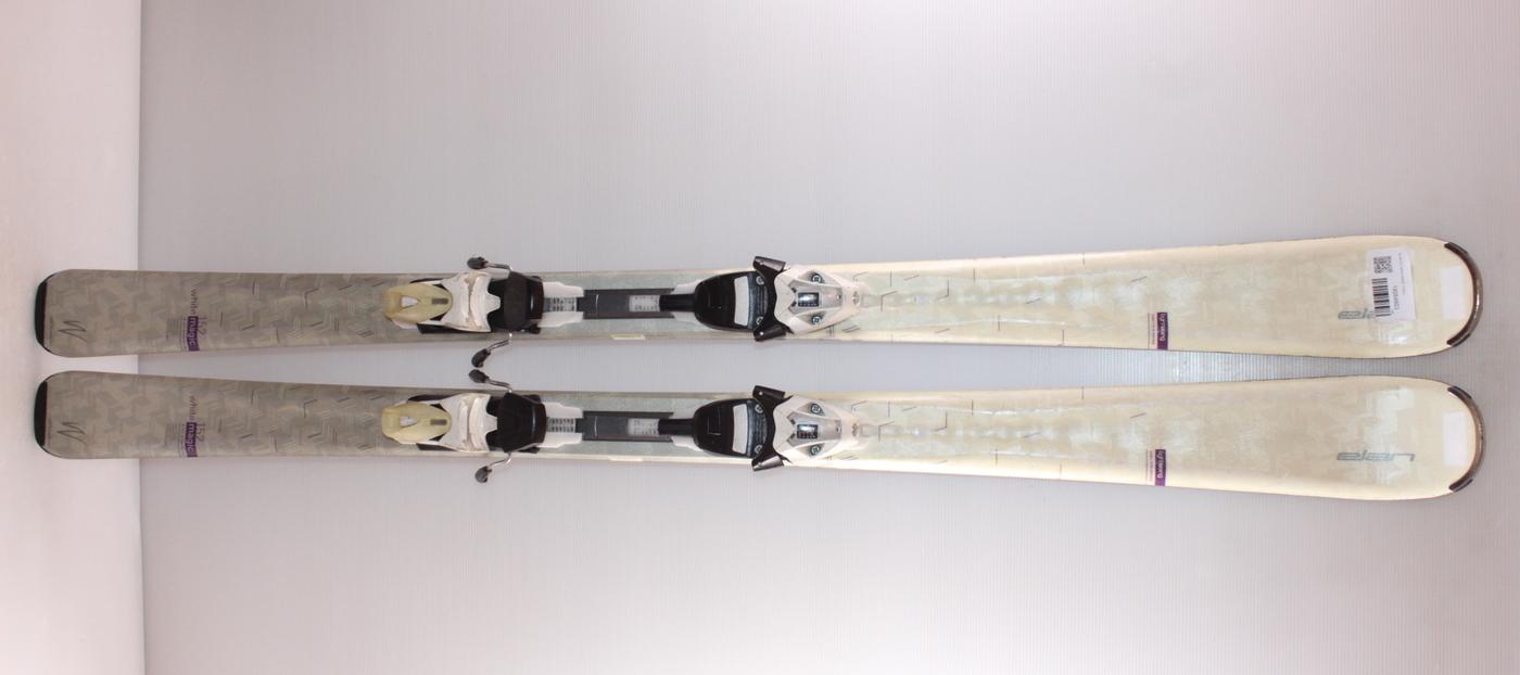 Dámské lyže ELAN QT WHITE MAGIC 152cm