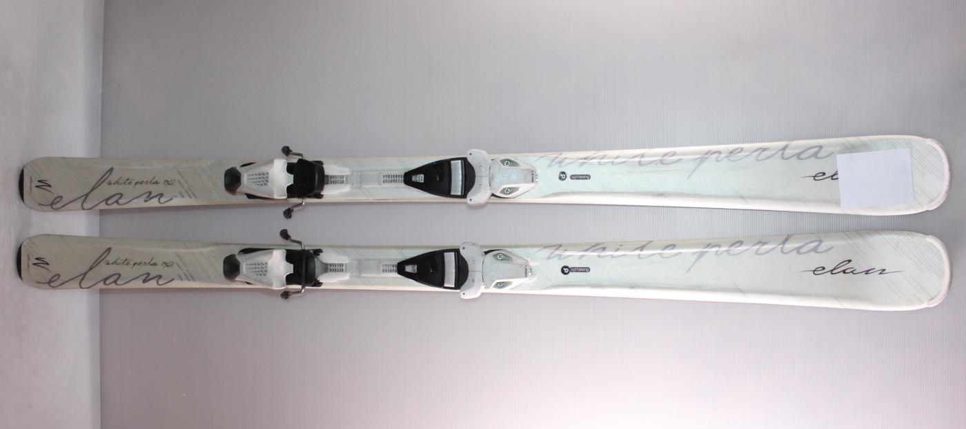 Dámské lyže ELAN WHITE PERLA 152cm