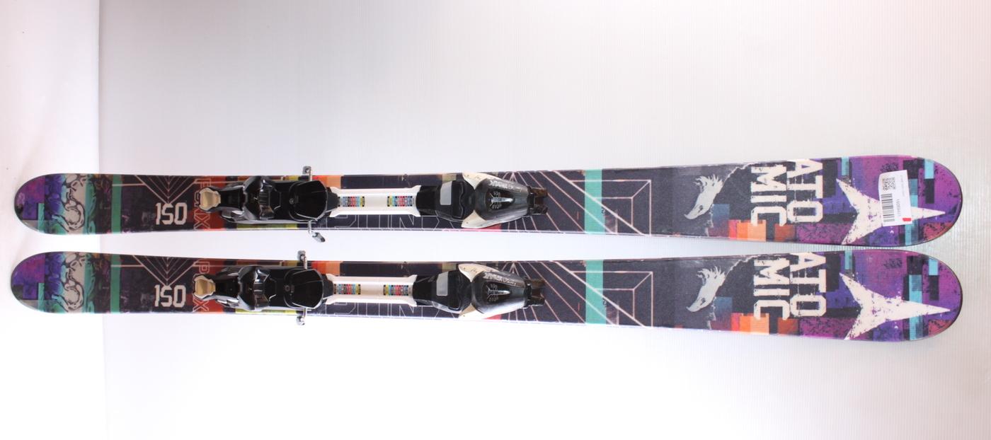 Dětské lyže ATOMIC PUNX 150cm rok 2016