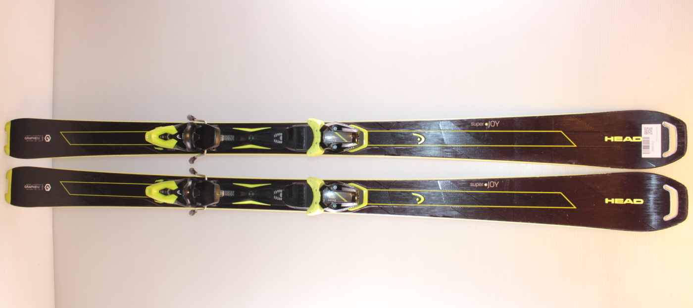 Dámské lyže HEAD SUPER JOY 163cm