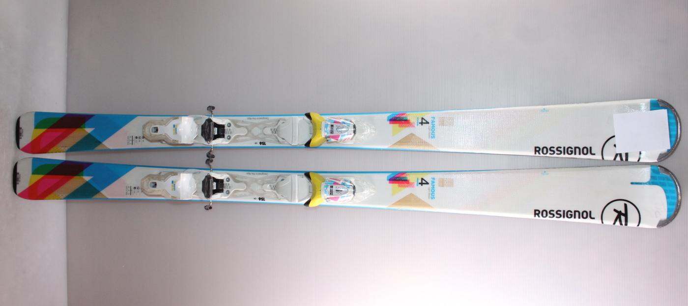 Dámské lyže ROSSIGNOL FAMOUS 4 142cm