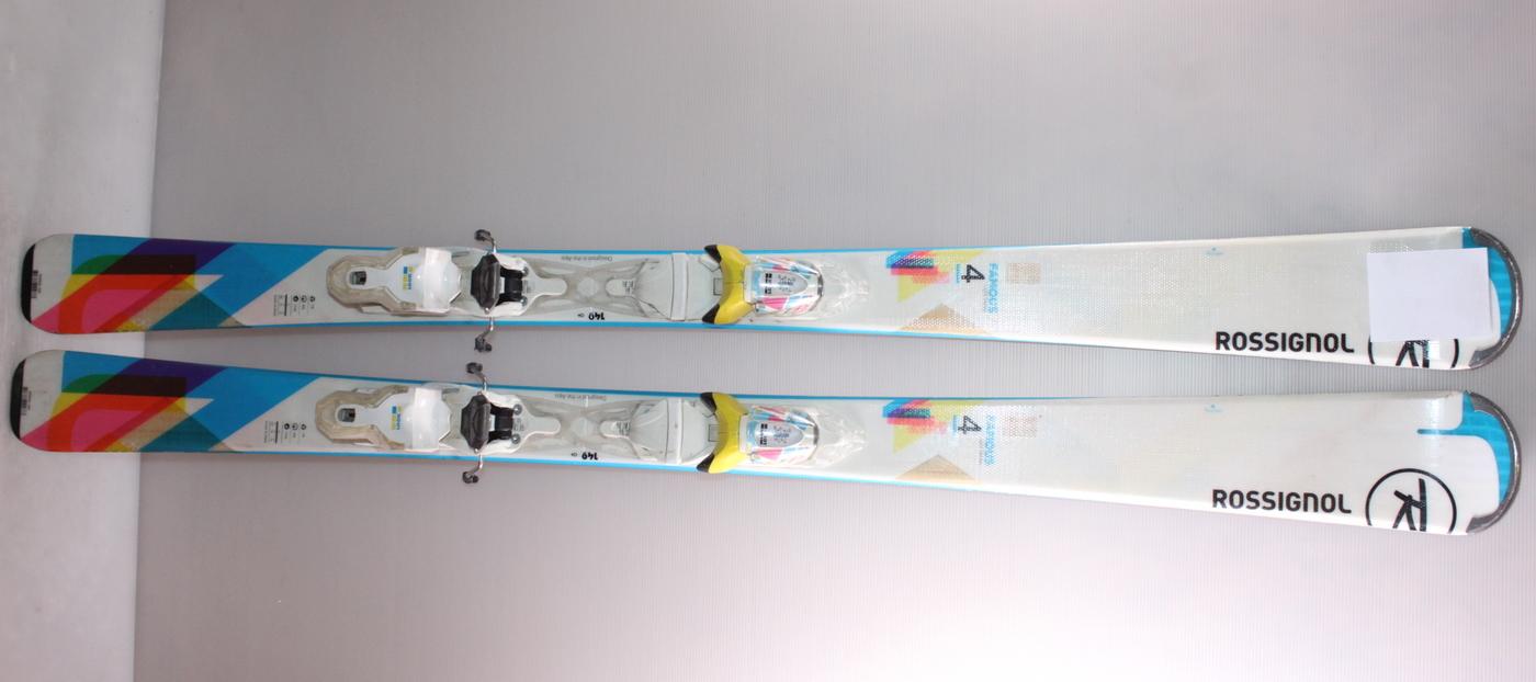 Dámské lyže ROSSIGNOL FAMOUS 4 149cm