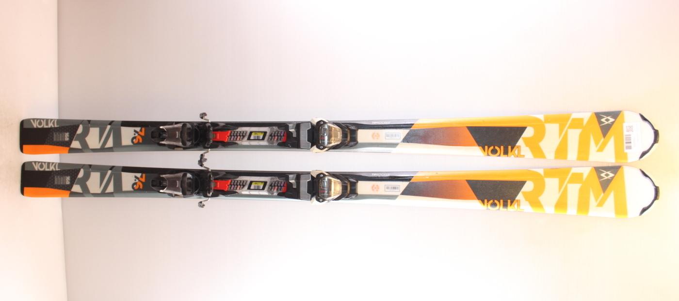 Lyže VOLKL RTM 7.6 ORANGE 168cm