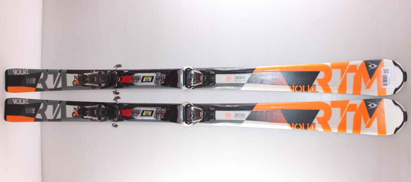 Lyže VOLKL RTM 7.6 ORANGE 154cm