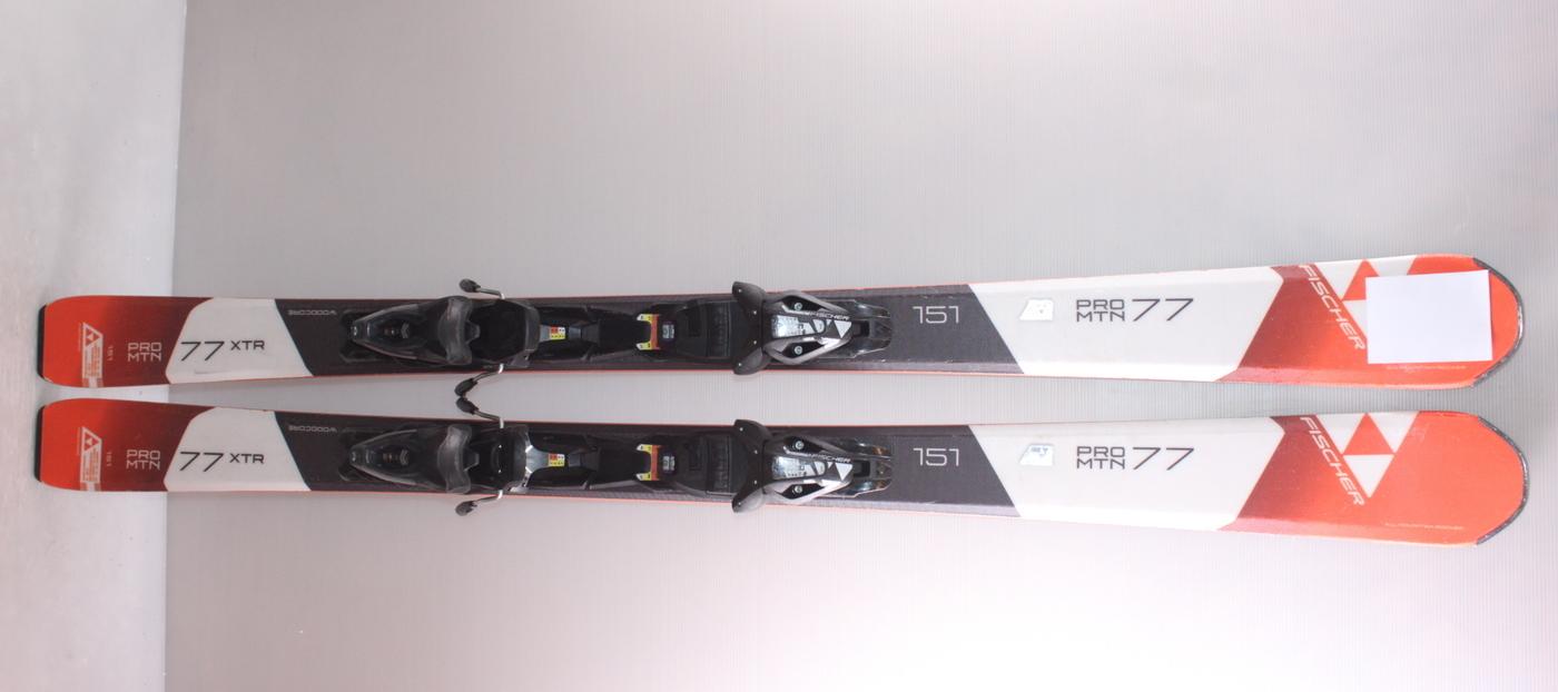 Lyže FISCHER PRO MTN 77 XTR 151cm