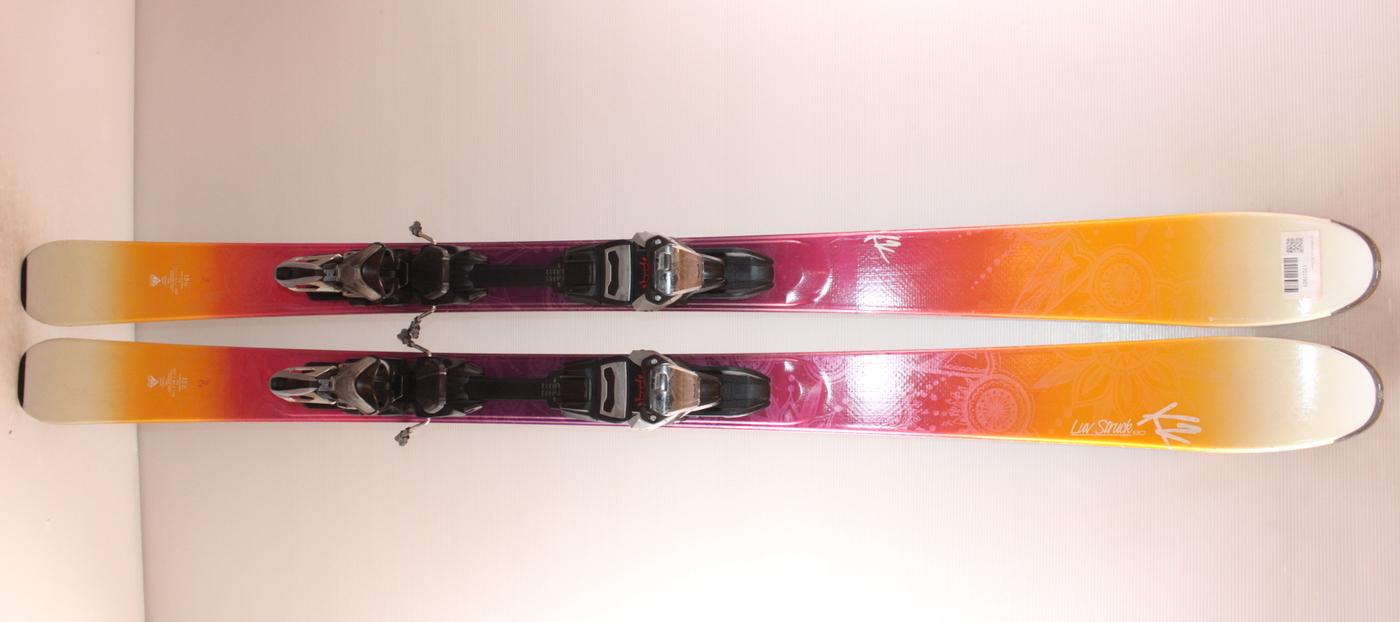 Dámské lyže K2 STRUCK LUV 80 156cm