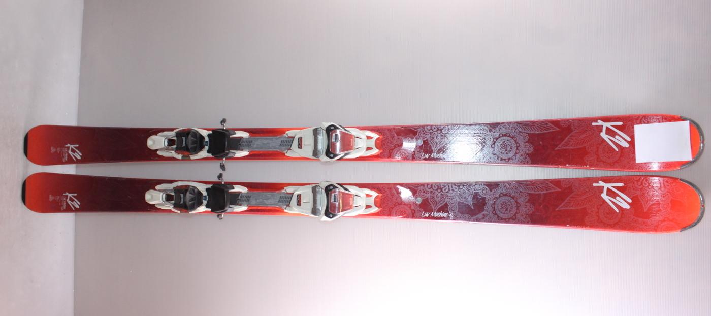 Dámské lyže K2 LUV MACHINE 74 Ti 160cm rok 2017