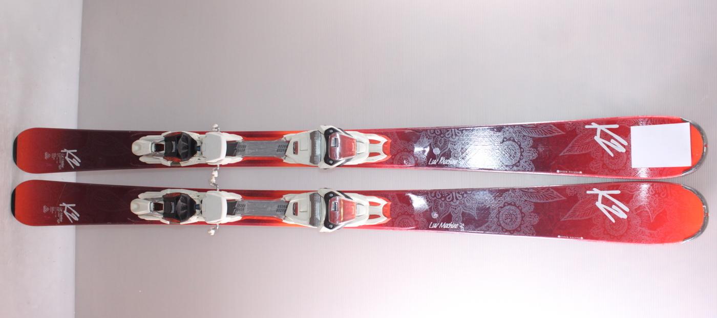Dámské lyže K2 LUV MACHINE 74 Ti 146cm rok 2017