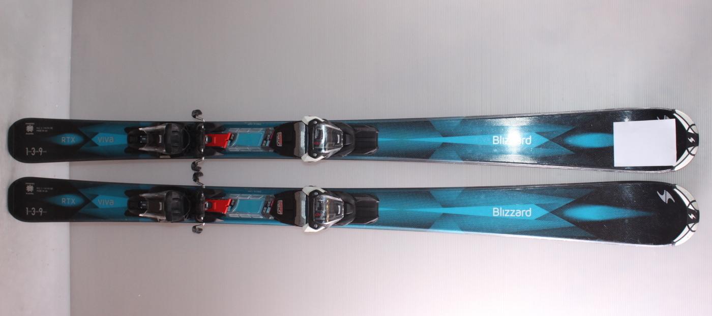 Dámské lyže BLIZZARD VIVA RTX 139cm rok 2017