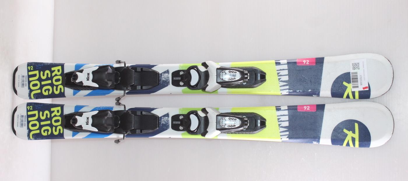 Dětské lyže ROSSIGNOL TERRAIN BOY 92cm rok 2017