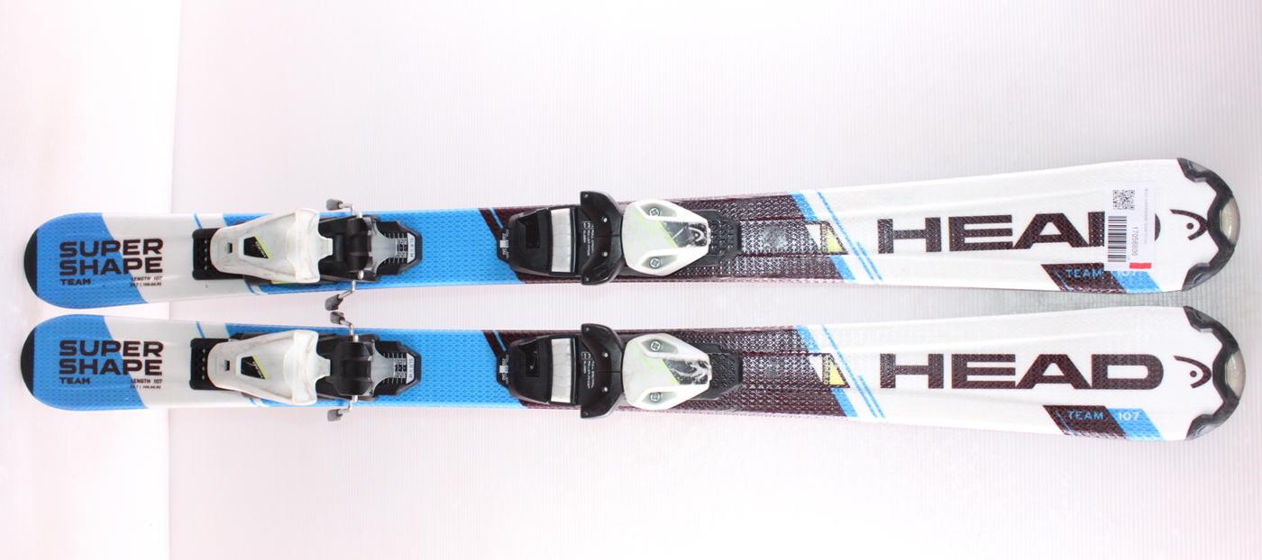 Dětské lyže HEAD SUPERSHAPE TEAM 107cm
