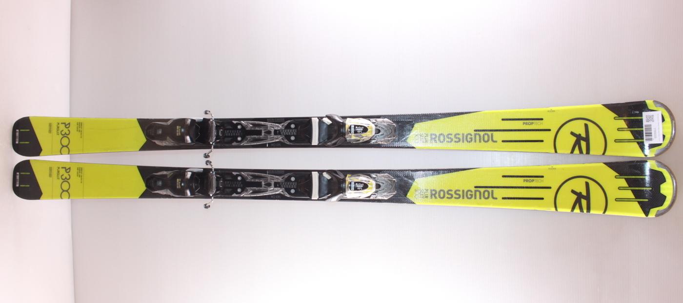 Lyže ROSSIGNOL PURSUIT P300 black/yellow 163cm
