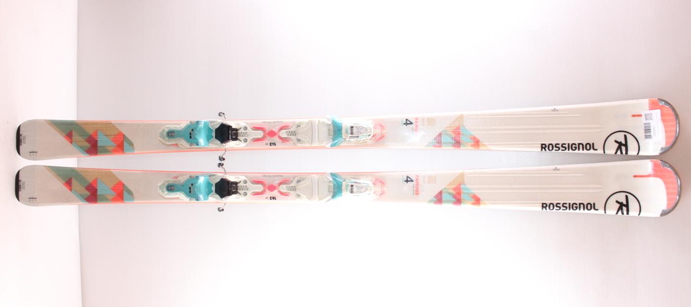Dámské lyže ROSSIGNOL FAMOUS 4 PINK 149cm