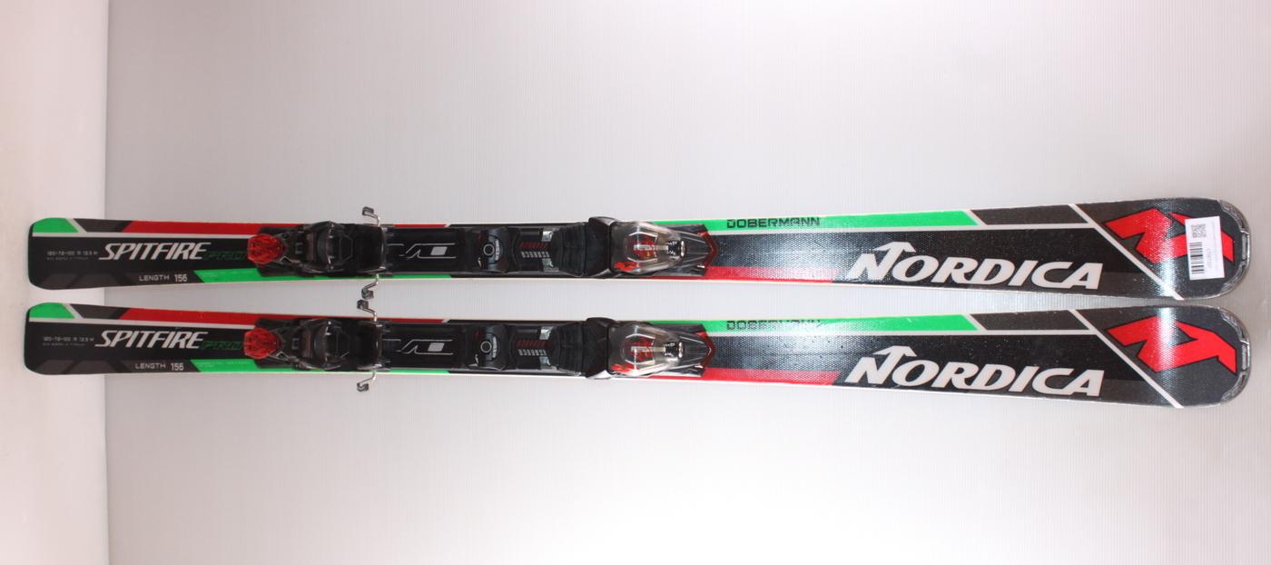 Lyže NORDICA DOBERMANN SPITFIRE Pro 156cm