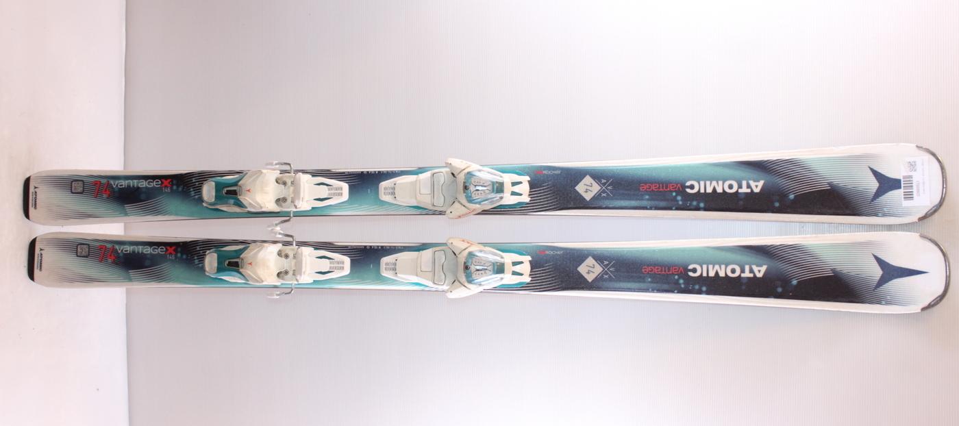 Dámské lyže ATOMIC VANTAGE X74 GREEN 146cm rok 2017
