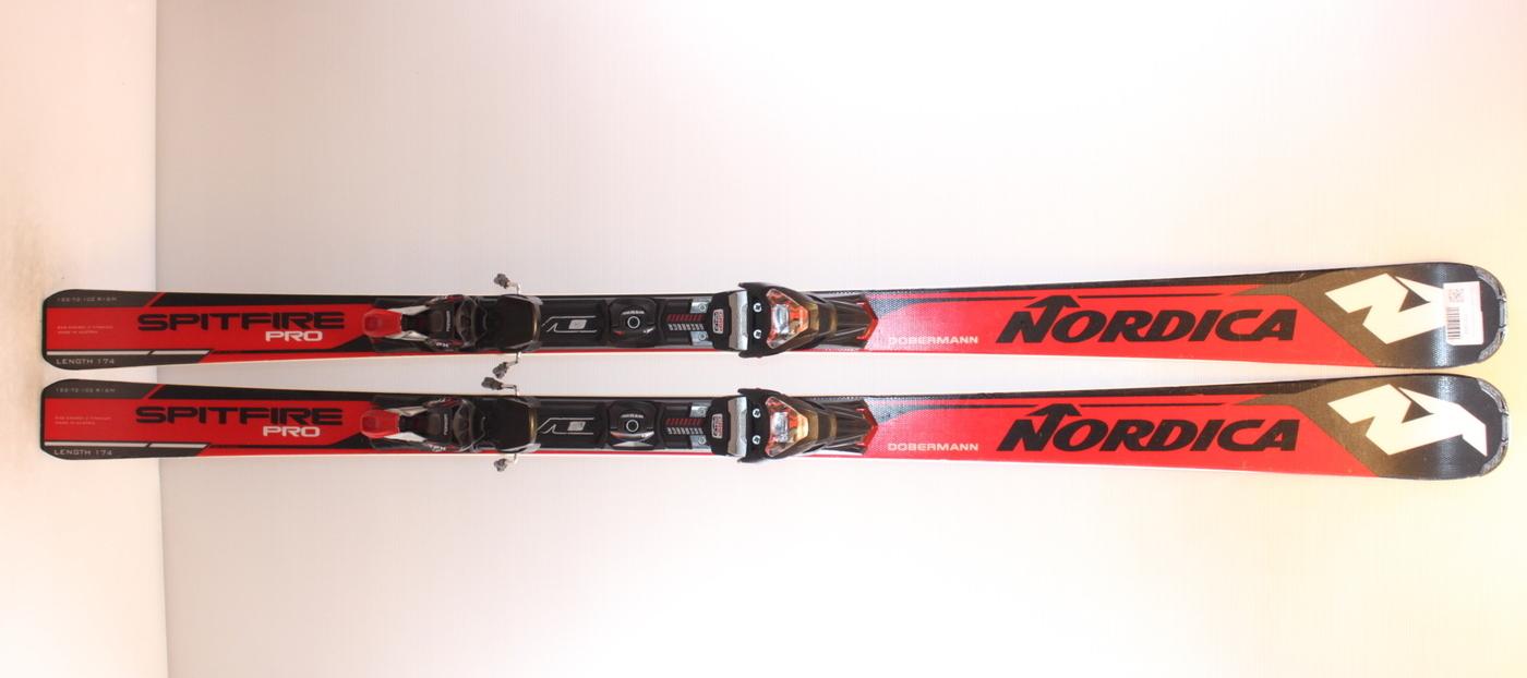 Lyže NORDICA DOBERMANN SPITFIRE Pro 162cm rok 2018