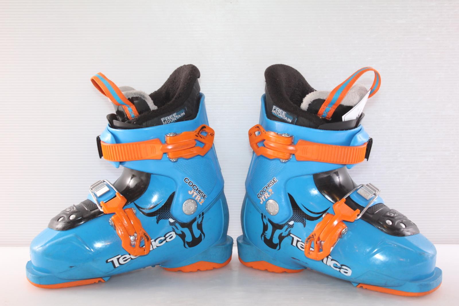 Dětské lyžáky Tecnica Cochise JT 2 R vel. EU30.5