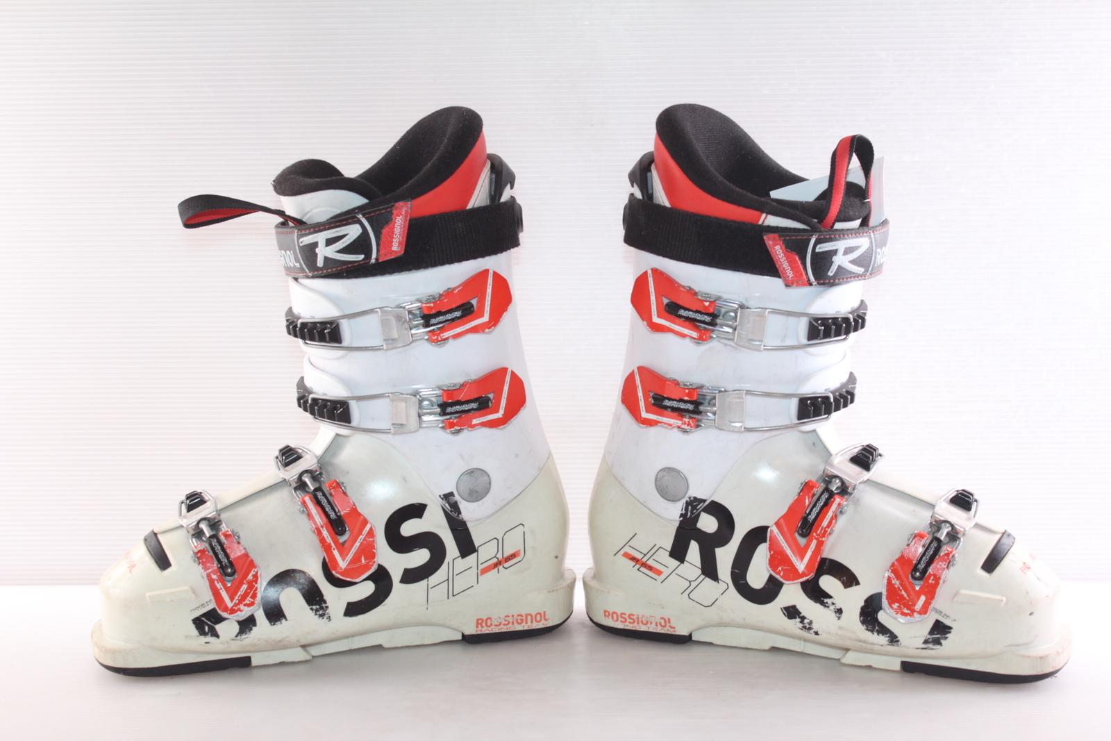 Dětské lyžáky Rossignol Hero JR 65 vel. EU38