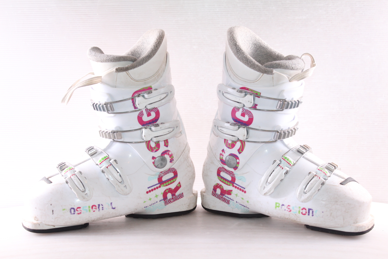 Dívčí lyžáky Rossignol Comp J4 vel. EU38.5