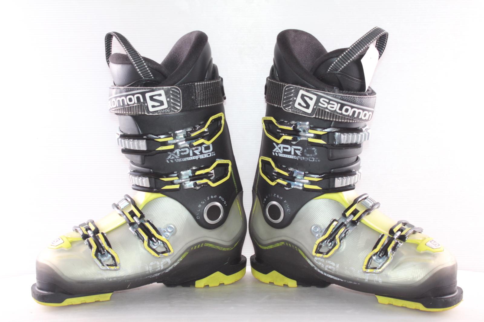 Lyžařské boty Salomon X Pro R80 wide vel. EU41 flexe 80