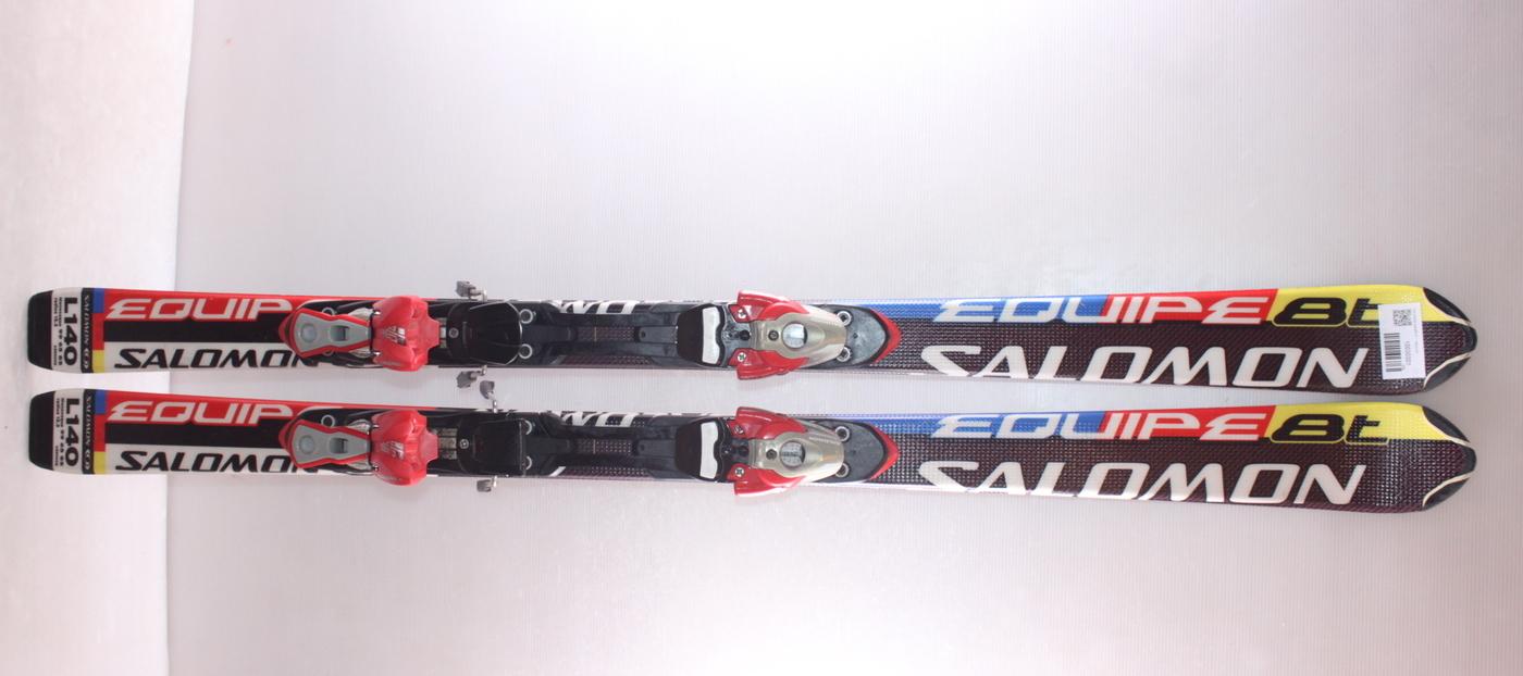 Dětské lyže SALOMON EQUIPE 8 T 140cm