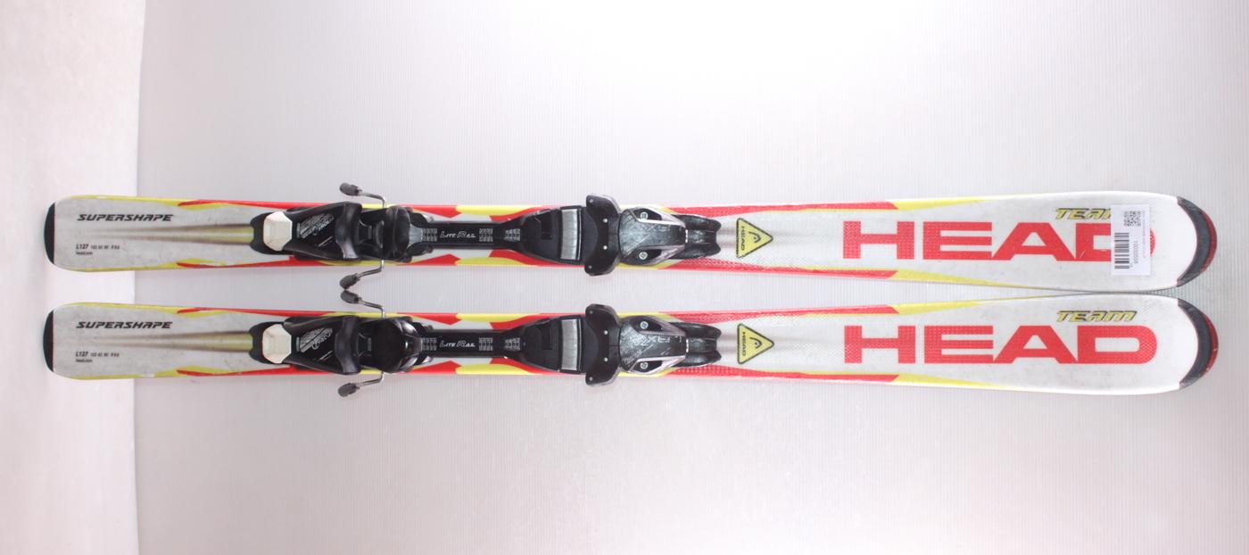 Dětské lyže HEAD SUPERSHAPE TEAM 127cm
