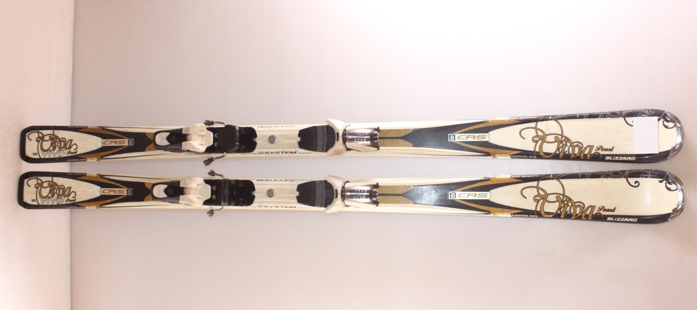 Dámské lyže BLIZZARD Viva Pearl  155cm