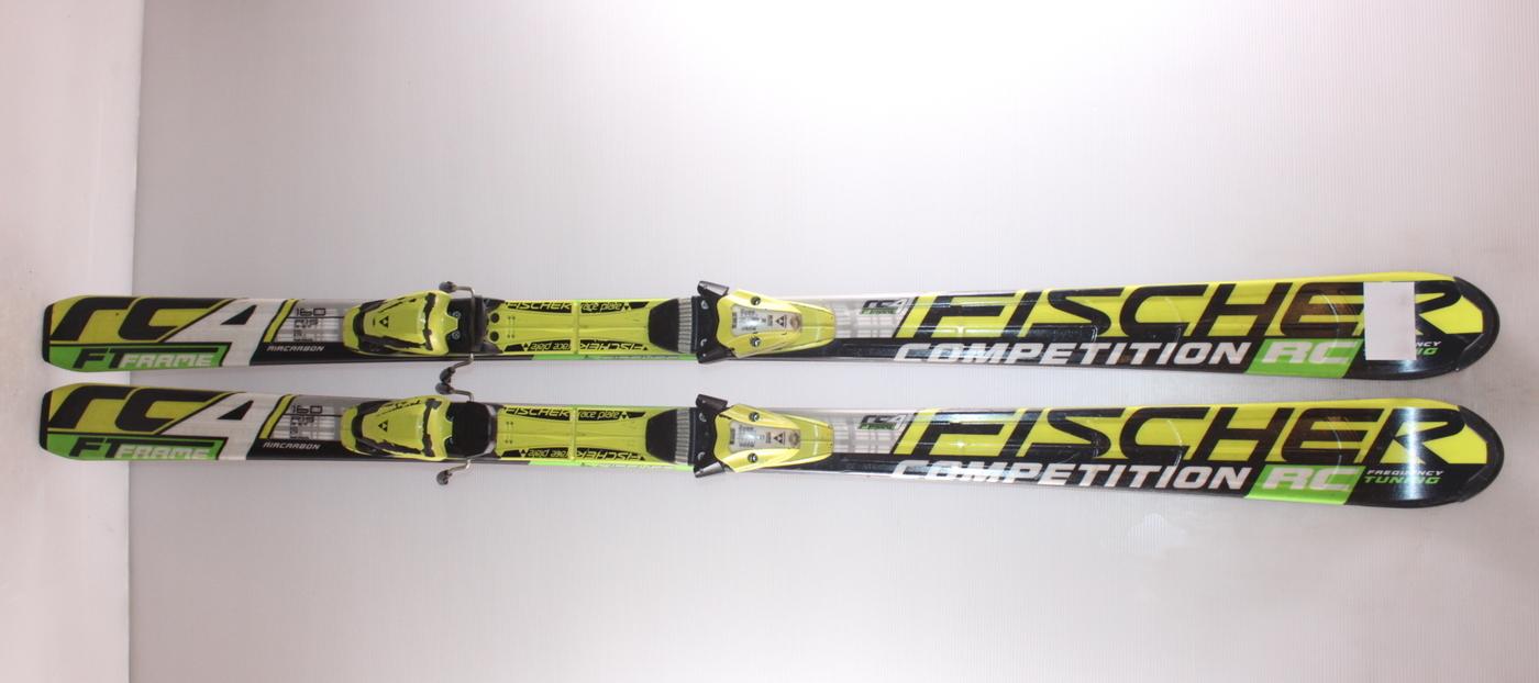 Dětské lyže FISCHER RC4 COMPETITION 160cm
