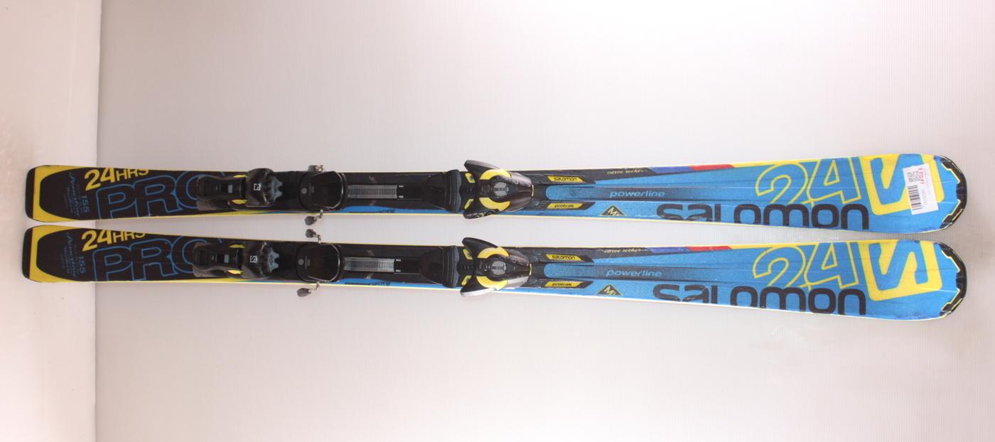 Lyže SALOMON 24 HRS PRO  155cm
