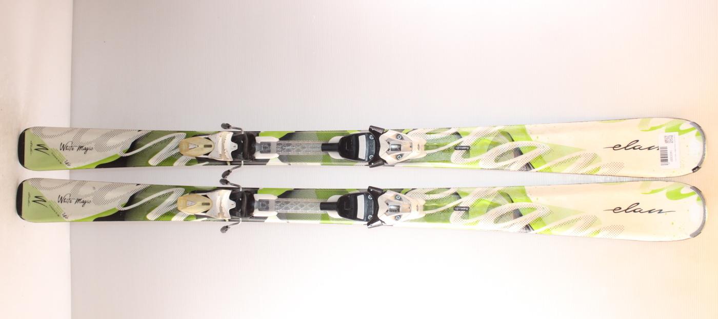 Dámské lyže ELAN WHITE MAGIC GREEN 146cm