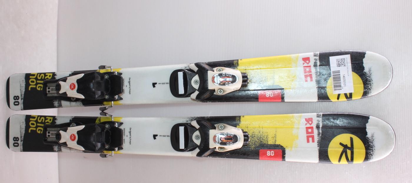 Dětské lyže ROSSIGNOL ROC 80cm